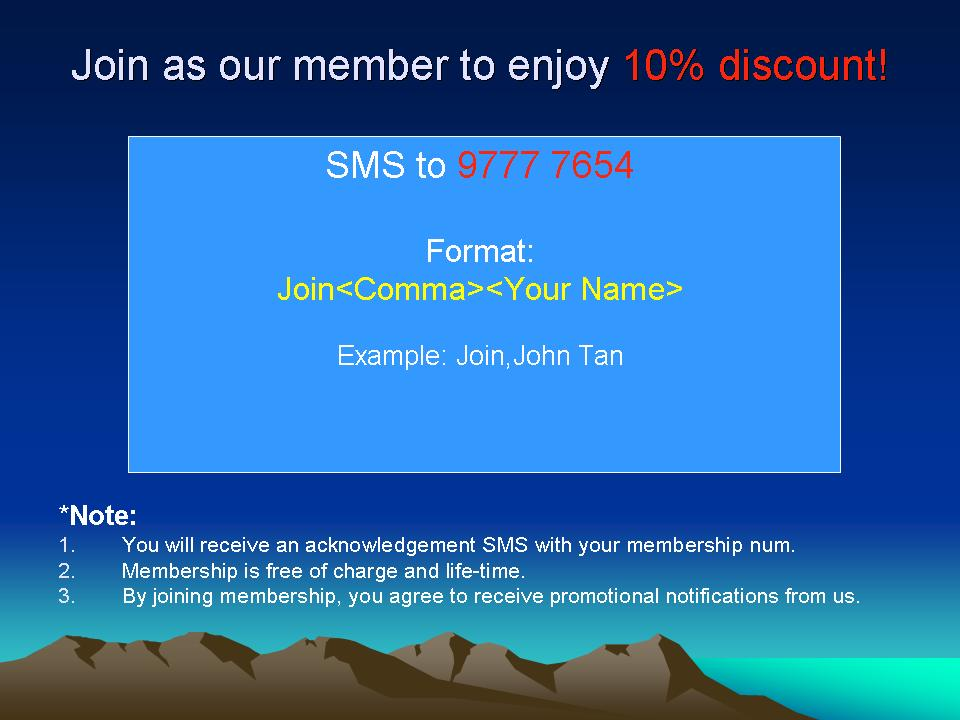 SMS Marketing Material